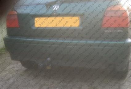VW Golf Hatchback Mk3 1992 to 1998 Fitted with PCT Towbar VW3056A & Single Electrics