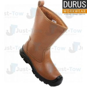 Durus Workwear Steel Toe Cap Fur Lined Rigger Boot