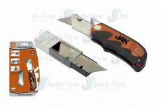 Jak Folding Utility Knife With 6 Extra Blades