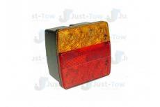 L.E.D 12V Square Combination Lamp