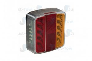 12V L.E.D Budget Square Combination Lamp