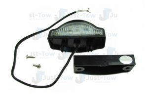 10-30V L.E.D Numberplate Lamp + Cable & Clip-Base