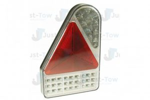 10-30V L.E.D L/H Rear Vertical Combination Lamp S/T/I/Fog/Rev/Reflex