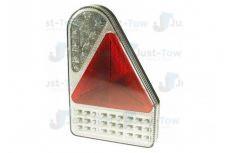 10-30V L.E.D R/H Rear Vertical Combination Lamp S/T/I/Fog/Rev/Reflex