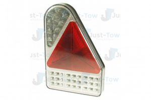10-30V L.E.D R/H Rear Vertical Combination Lamp S/T/I/Fog/Rev/Reflex