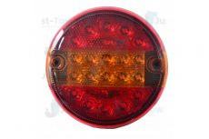 12-24V L.E.D Rear Round Combination Lamp S/T/I