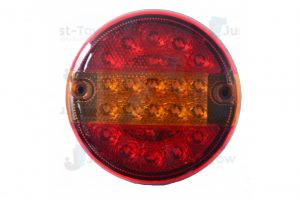 12-24V L.E.D Rear Round Combination Lamp S/T/I