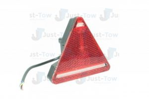 10-30V L.E.D Triangle L/H Rear Combination Lamp S/T/I/Rev/Reflex
