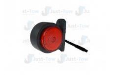 WAS 10-30V L.E.D Red/White Outline Marker & Reflex