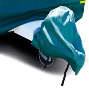 MP9258 Green Caravan Hitch Cover