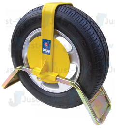 "Bulldog QD22Y 13"" Wheel Clamp"