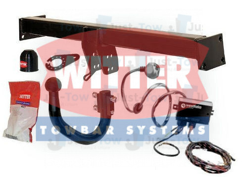 Witter Swan Neck Towbar & Dedicated Electrics Kit