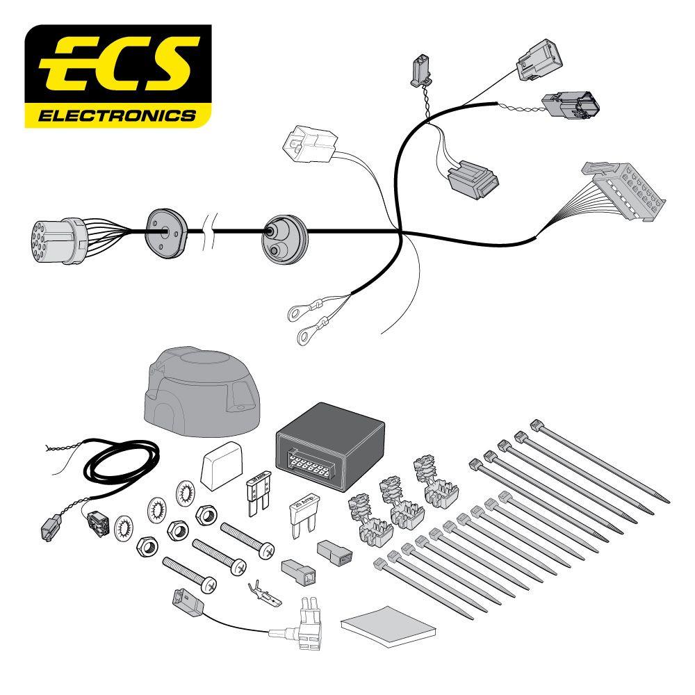 FR10813U Towbar Wiring Kit