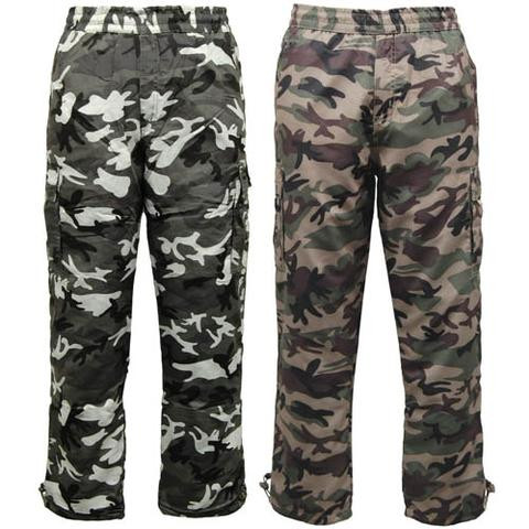 Camouflage Thermal Cargo Trousers