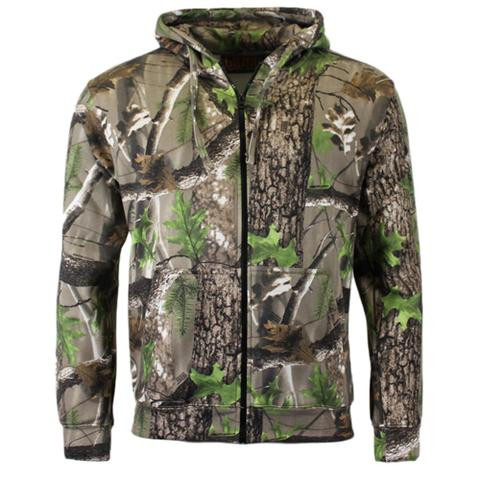 Game Camouflage Zip Hoody
