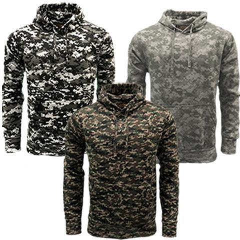 Game Digital Camouflage Hoodie