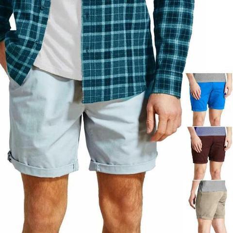 Mens Cotton Chino Shorts