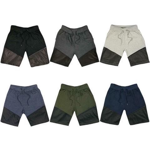 Mens Fleece Gym Shorts