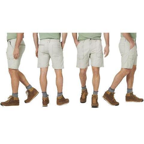 Mens Wrangler Hiker Cargo Shorts