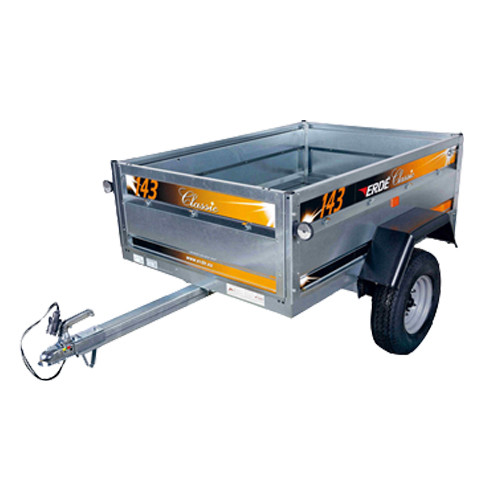 Erde 143 Car Trailer